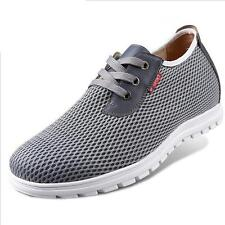 Summer Height Increasing Shoes Elevator Make Men 2.36Inches Taller