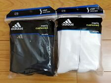 6 Pairs Adidas Men's Crew Sock with Climalite, shoe size 6-12, Black or White