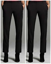 Narciso Rodriguez Limited Edition For Designation Black Crepe Tuxedo Pants