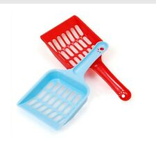 Pet Dog Cat Plastic Litter Tray Spoon Waste Scooper Poop Shovel Cleaning Product