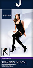 Sigvaris SOFT OPAQUE THIGH HIGH Compression Stockings 20-30mmHg All Sizes/Colors