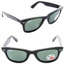 NEW AUTHENTIC RAY BAN WAYFARER RB2140-2 PLASTIC UNISEX 100% UV MADE IN ITALY