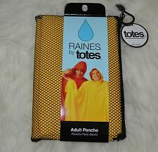 Adult Poncho One Size Fits Most Pullover Design Lightweight Raines by Totes