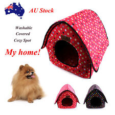 Pet Bed Dog Mat Cat Cushion Warm Pad Puppy House Kennel Mattress Washable Comfy
