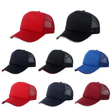 New Trucker Hats Sports Mesh Cap Mens Womens Baseball Golf Visor Snapback