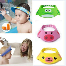 Adjustable Baby Kids Summer Shampoo Bath Bathing Shower Cap Hat Wash Hair Shield