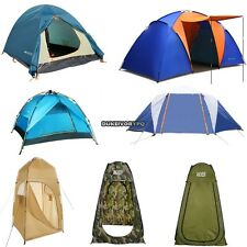 Pop Up Camping Tent Instant Setup Waterproof Dual Layer Tent 1-10 Person