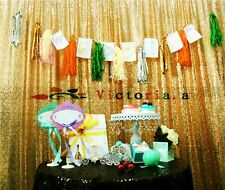 Gold Sequin Photo Backdrop,Wedding Photo Booth, Photography Background