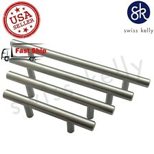 25 Pack Swiss Kelly Kitchen Cabinet Pull Hollow Stainless Steel Drawer Handle