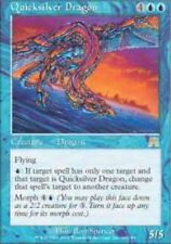 MTG: Quicksilver Dragon - Blue Rare - Onslaught - ONS - Magic Card