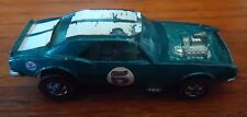 1969 Vintage Hot Wheels Redline Heavy Chevy Mattel Hong Kong Teal Blue/Green