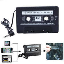 Car Audio Cassette Jack for MP3 iPod CD Player Tape Adapter to Aux Cable 3.5mm