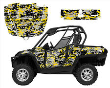 Can am Commander Graphic kit with Blingstar,OEM,Pro Armor Door Wrap Digital Camo