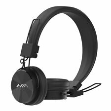 Wireless Bluetooth Wired Portable Foldable On-Ear Headphones with Microphone