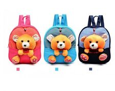 Cute Bear School Bag Kindergarten Student Backpack Primary Child Shoulders Bag