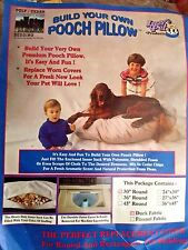 """Pooch Pillow Replacement Cover or Build-Your-Own Dog Bed NEW 30"""" Round 7 Colors"""
