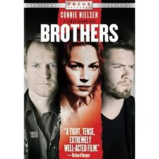 BROTHERS (DVD, WS) CONNIE NIELSEN! *RARE OOP!* FREE SHIPPING! SHIPS NEXT DAY!