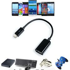 Premium USB Host OTG Adaptor Adapter Cable For Velocity Micro Cruz Tablet PS47