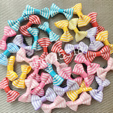 Puppy Dog Hair Bows Dog Topknot hairpins Bows Pet Hair Bows Bright  hair clips