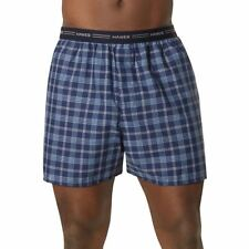 5-Pack Hanes Men's Yarn Dyed Plaid Boxers Underwear - Assorted - Sizes S-2XL