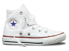 Converse Chuck Taylor Youth All Star High Top Shoes- White