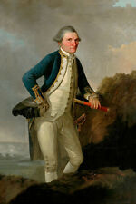 Captain James Cook Explorer Navigator Cartographer New Photo R0003
