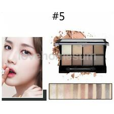8 Colors Eye Shadow Makeup Cosmetic Shimmer Matte Eyeshadow Palette with Brush
