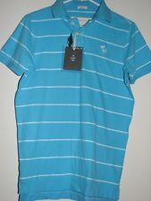 Abercrombie & Fitch Mens Muscle Classic Stripes Polo 100% Cotton Shirt M-NWT $60