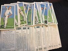 Cricketers 1930 - John Player - Choose your card, complete your set