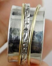 Vintage Style Spinner Plain Band Gold Plated Ring Bronze Silver Designing Ring