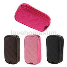 Travel Makeup Cosmetic Mirror Toiletry Case Wash Organizer Storage Pouch Bag