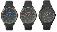 Timex IQ + Move Bluetooth Smartwatch Grey Dial Resin Strap Gents Watch