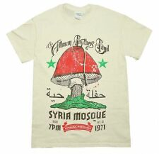 Allman Brothers Syria Mosque T-Shirt Officially Licensed NEW