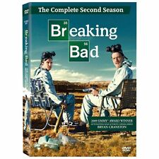 Breaking Bad Complete Second 2nd Season Brand New DVD 4-Disc Set Factory Sealed