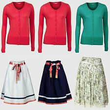 Woman Summer Skirts Size 16 14 12 10 8 Ladies Cardigan 2PC Holiday Outfit