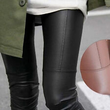 Women Chic Tight Faux Leather Pants Rock Punk Slim Fit Trousers Leggings Perfect