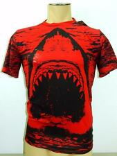 NWT $60 Under Armour Mens Red Alter Ego Shark Short Sleeve Compression Shirt