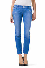 GAS SHEYLA W887 Woman 5 pocket jeans, ultra tight fit with low waist trousers