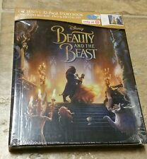New Disney Beauty & the Beast 2017 Blu-ray/DVD/Digital HD Digibook Target Sealed