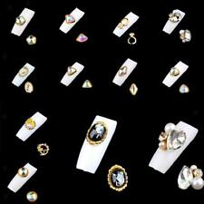 3D Nail Art Sticker Rhinestones Gem Manicure Phone Case DIY Decoration 10pcs