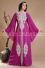 Get Beautiful Hand Made Embroidery Kaftan Dress For Women By Maxim Creation 3899