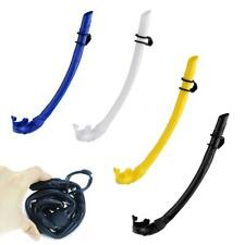 Folding Silicone Full Wet Breathing Air Tube Snorkel Scuba Diving Gear Equipment