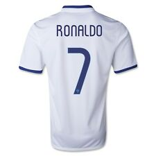 Nike Cristiano Ronaldo #7 Portugal 2014 FIFA World Cup White Away Soccer Jersey