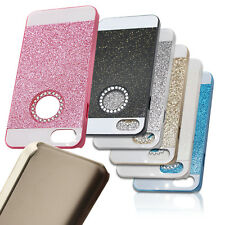 For Apple iPhone 5 5s SE Mobile Phone Protective Cover Glitter Hard Slim Case