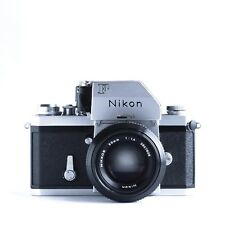 Nikon F 35mm pro-SLR camera with Nikkor 50 f/1.4  non-ai (with 6 months warranty