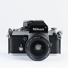 Nikon F2 35mm pro-SLR camera with Nikkor serie E 36-72 F3.5 (with 6 months warra