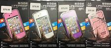 Lifeproof Phone Case for Iphone 4 / 4S Waterproof NEW!