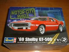 2009 REVELL Model AMERICAN MUSCLE: '69 SHELBY GT-500 MUSTANG 2 'N 1 Kit #85-2158