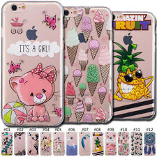 Painted Cover TPU Cute Skin Soft Protection Case For Apple iPhone 6 Plus/6S Plus