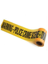 Yellow Crime Scene Tape 30m FBI CID Police SWAT Killer Crime Forensics